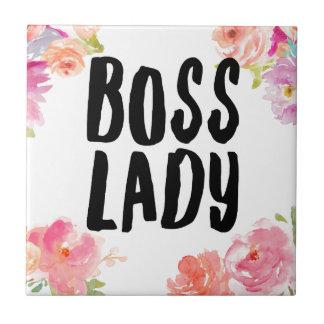 Boss Lady Tile