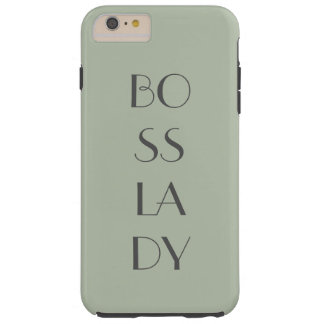 Boss Lady Tough iPhone 6 Plus Case