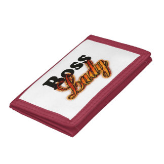 Boss Lady Tri-fold Wallets