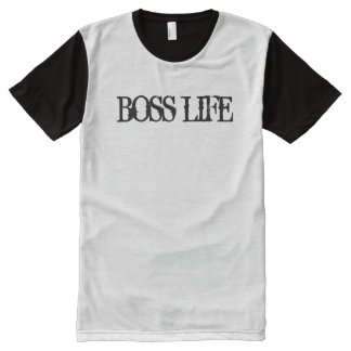 Boss Life Fashion Mens Tshirt