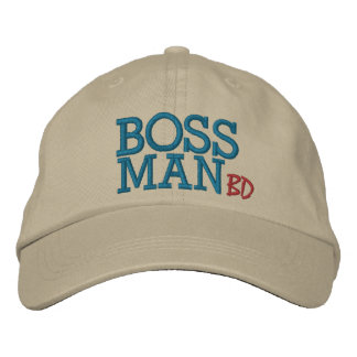 Boss Man by SRF Embroidered Hat