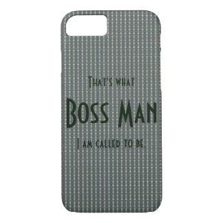Boss Man Green slim lightweight iPhone 7 case