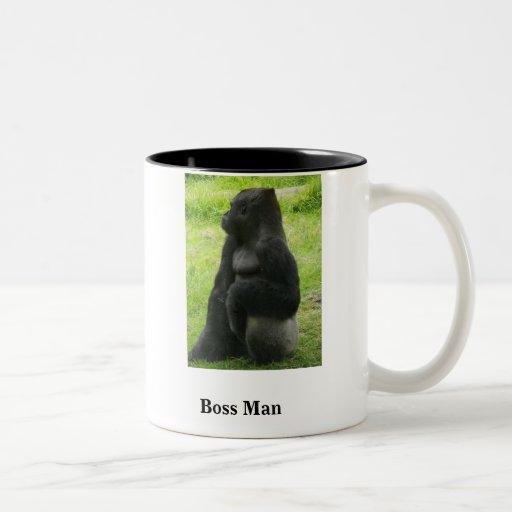 Boss Man Coffee Mugs