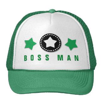 BOSS MAN Template Modern Design V5 GREEN Cap
