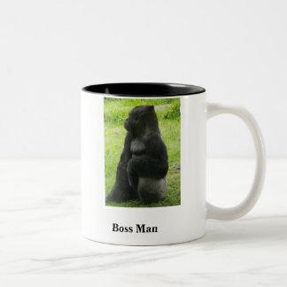 Boss Man Two-Tone Coffee Mug