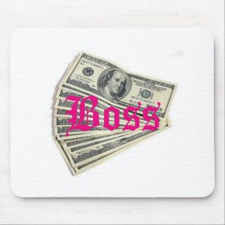 Boss Money Mousepad