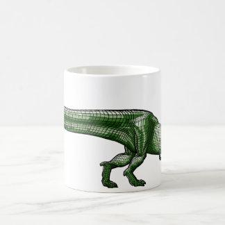 Boss mosquito with T-rex Coffee Mug