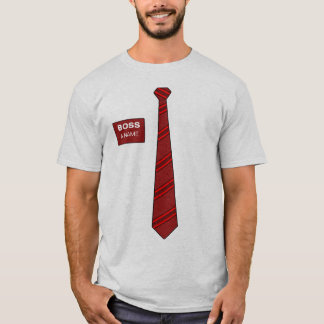Boss Necktie Shirt