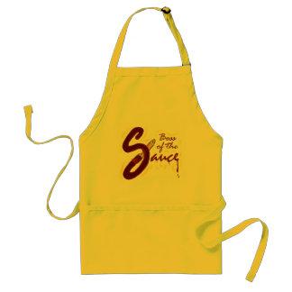 Boss of the Sauce apron