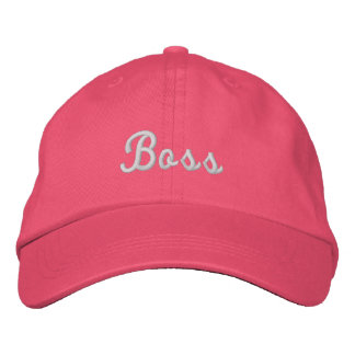 Boss Personalized Adjustable Hat