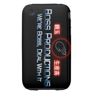 Boss Productions Iphone Case