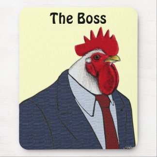 Boss Rooster Mouse Pad