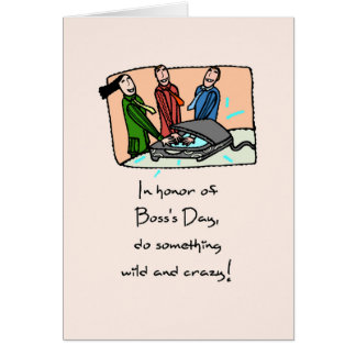 Boss's Day Funny Office Humor Card