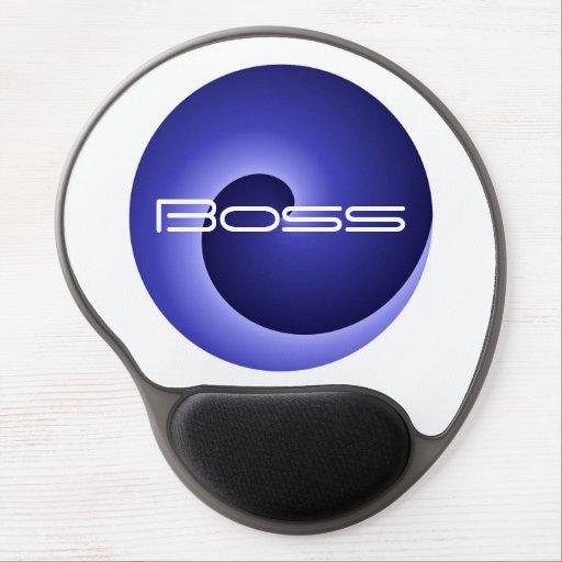 Boss Spiral Gel Mousepad