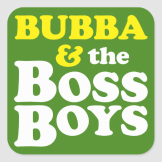 Boss Square Sticker