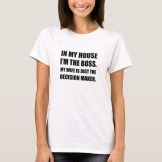 Boss Wife Decision Maker T-Shirt