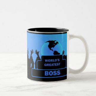 Boss World's Greatest Blue Cheers Mug