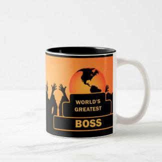 Boss World's Greatest Gold Cheers Mug