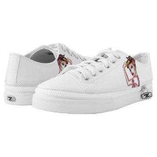 Bossbabe Kicks... fun low top canvas sneakers