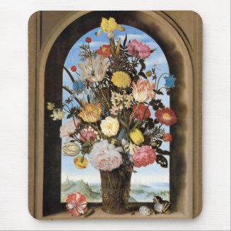 Bosschaert Bouquet in an Arched Window Mousepad