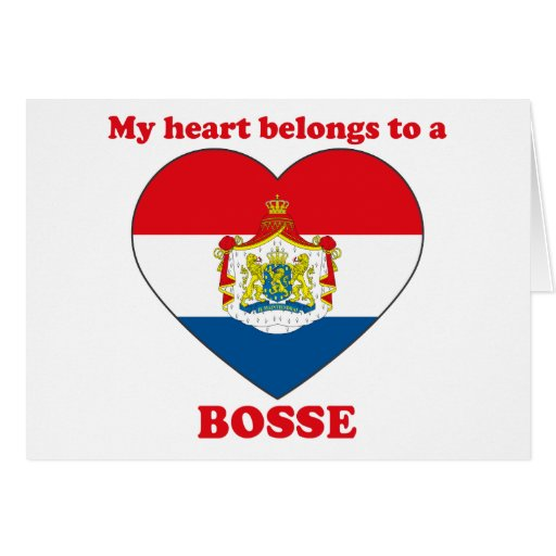 Bosse Greeting Card