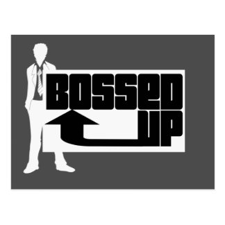 Bossed Up Postcard
