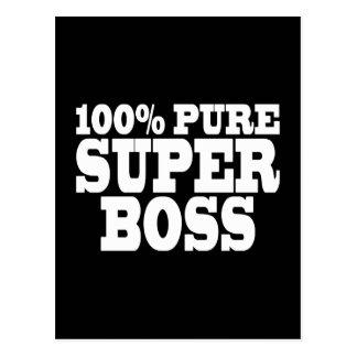 Bosses Birthday Parties 100 Pure Super Boss Postcard