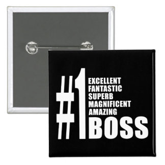 Bosses Birthdays Gifts Number One Boss Pins