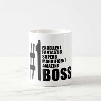 Bosses Birthdays Gifts : Number One Boss Coffee Mug