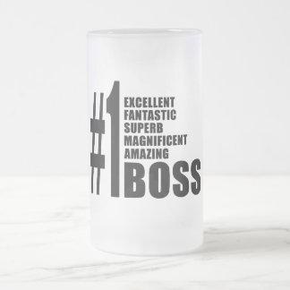 Bosses Birthdays Gifts : Number One Boss Coffee Mugs