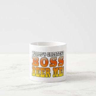 Bosses Office Parties Worlds Greatest Boss Beer Me Espresso Mug