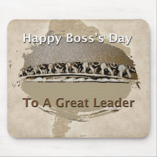 Boss's Day Gift Mouse Pads