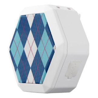 Bossy Argyle Boombot White Boombot Rex Bluetooth Speaker