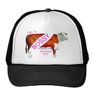 Bossy Proud Of It Cow Cap