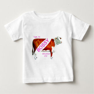 Bossy Proud Of It Cow Shirt