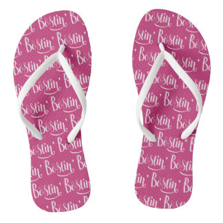 Bostin' Birmingham Black Country Dialect Flipflops
