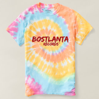 Bostlanta Records Tye-Dye Shirt