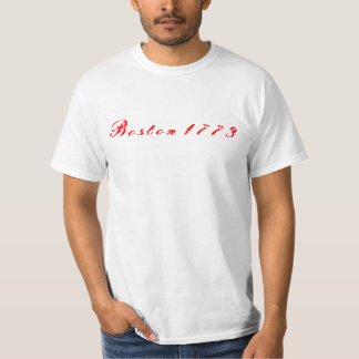 Boston 1773 t shirt