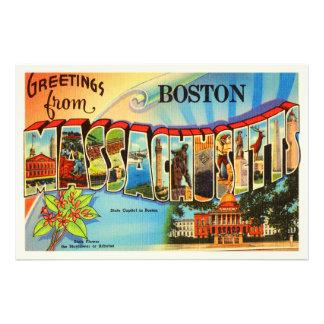 Boston #2 Massachusetts MA Vintage Travel Souvenir Photograph