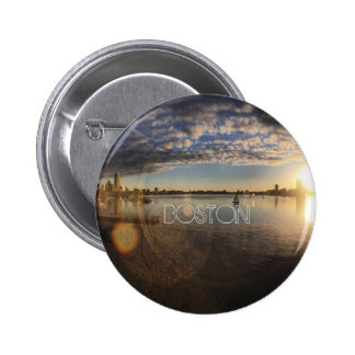 Boston 6 Cm Round Badge