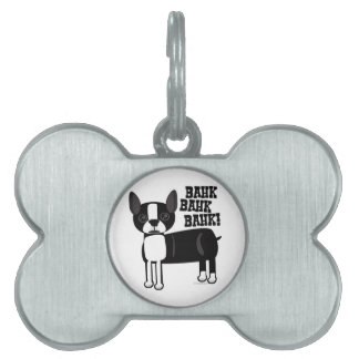 Boston Accent Terrier Pet ID Tags