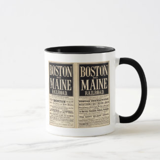 Boston and Maine Railroad Mug