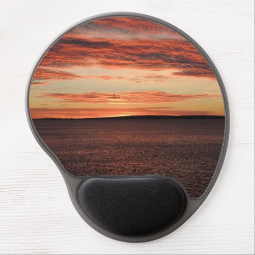 Boston Bay Sunrise Gel Mouse Pads