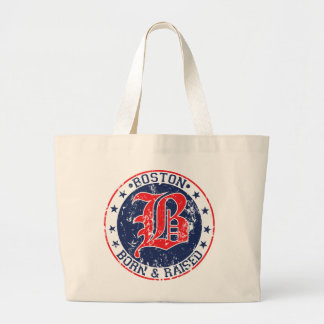 Boston born raised red bag