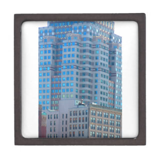 BOSTON Buildings Towers Architecture Premium Jewelry Boxes