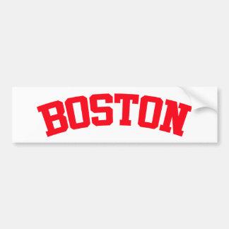 BOSTON BUMPER STICKER
