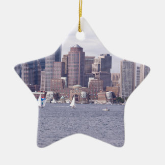 Boston Ceramic Ornament
