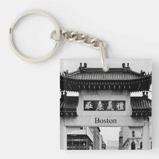 Boston Chinatown Key Ring