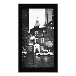 Boston Church Photo Print