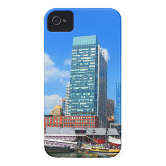Boston City Buildings n Urban Landscape iPhone 4 Cover